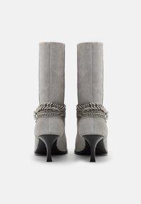 Bronx - NEW LARA - Boots - ice grey - 2