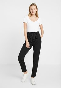 JDY - JDYTANJA PANT - Trousers - black - 1