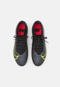 Nike Performance - MERCURIAL VAPOR 14 PRO AG - Fotbollsskor fasta dobbar - black/cyber/off noir - 3