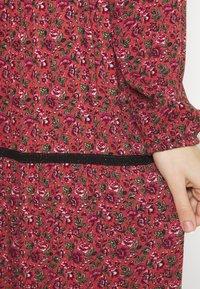 Vero Moda - VMALICE ANCLE DRESS - Maxi dress - marsala/rosey - 5