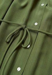 Mango - FARM - Shirt dress - green - 5