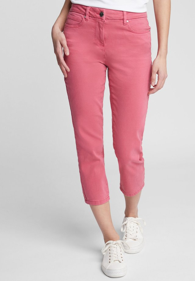 Džíny Straight Fit - pink