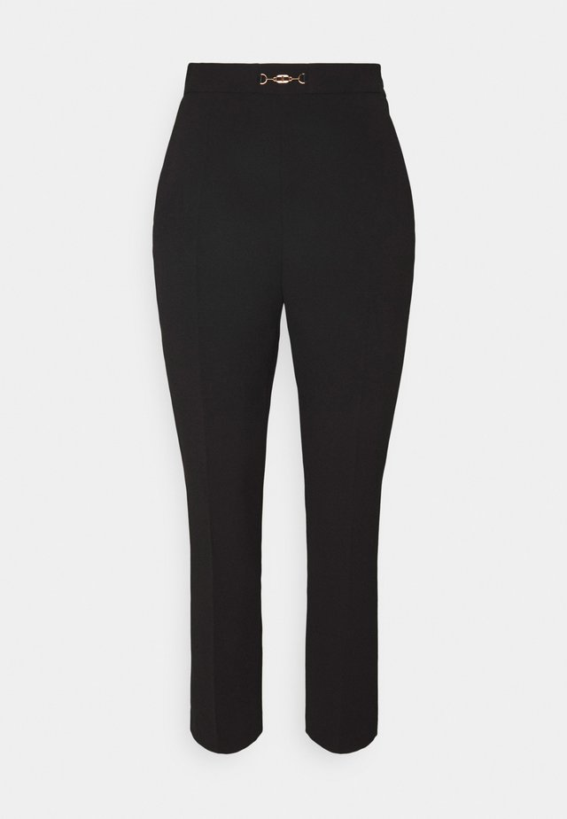 WOMEN'S PANTS - Trousers - nero