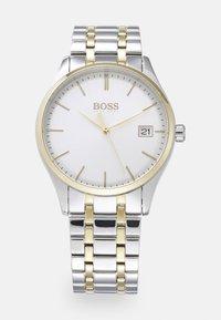 BOSS - COMMISSIONER - Reloj - silver-coloured/white - 0