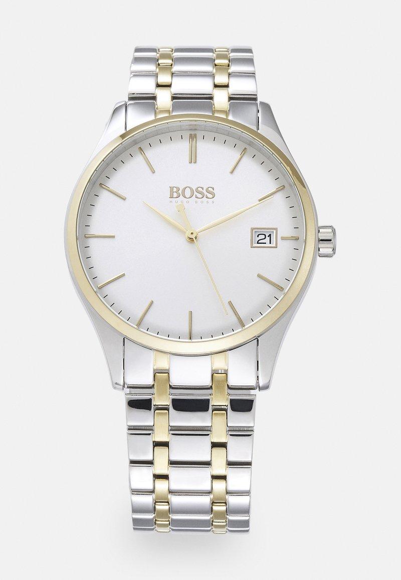 BOSS - COMMISSIONER - Reloj - silver-coloured/white