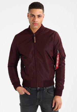 Bomber Jacket - dark maroon