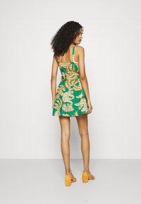 Farm Rio - RAINING BANANAS MINI DRESS - Day dress - multi - 2