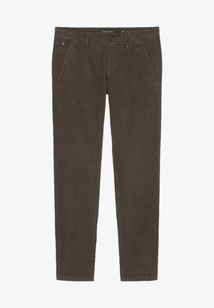 Trousers - chocolate brown