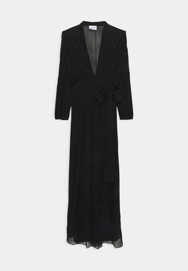 GEORGETTE - Maxi dress - black