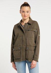 DreiMaster - Summer jacket - militär oliv - 0