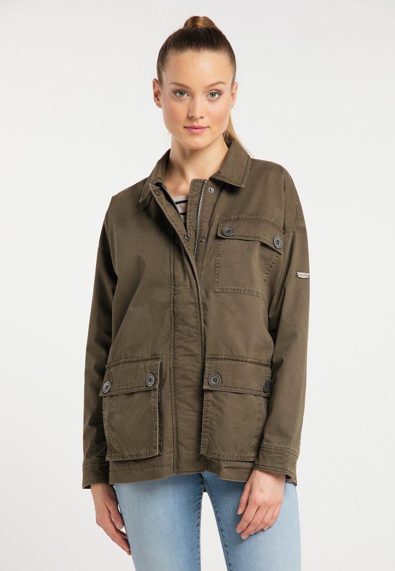 DreiMaster - Summer jacket - militär oliv