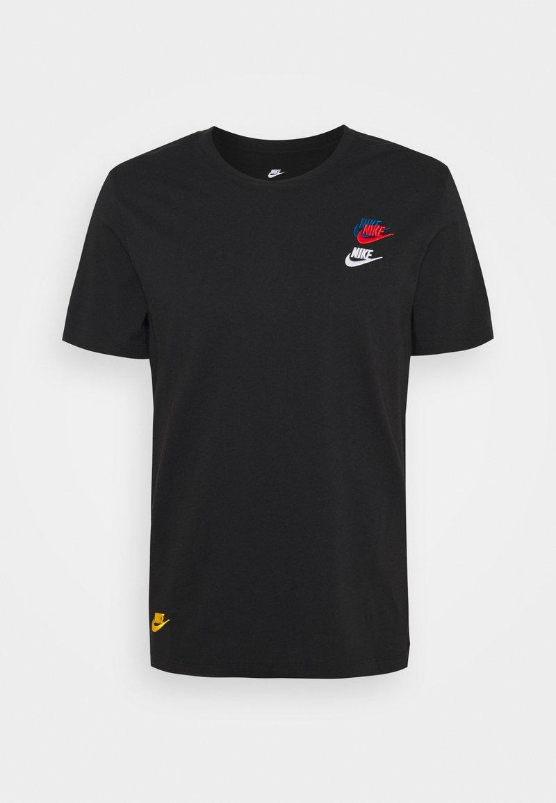 Nike Sportswear - TEE CLUB ESSENTIALS - T-shirts med print - black