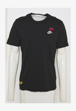TEE CLUB ESSENTIALS - T-shirt med print - black