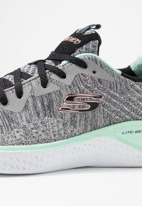 Skechers Sport - SOLAR FUSE - Trainers - gray/black/pink/mint - 2