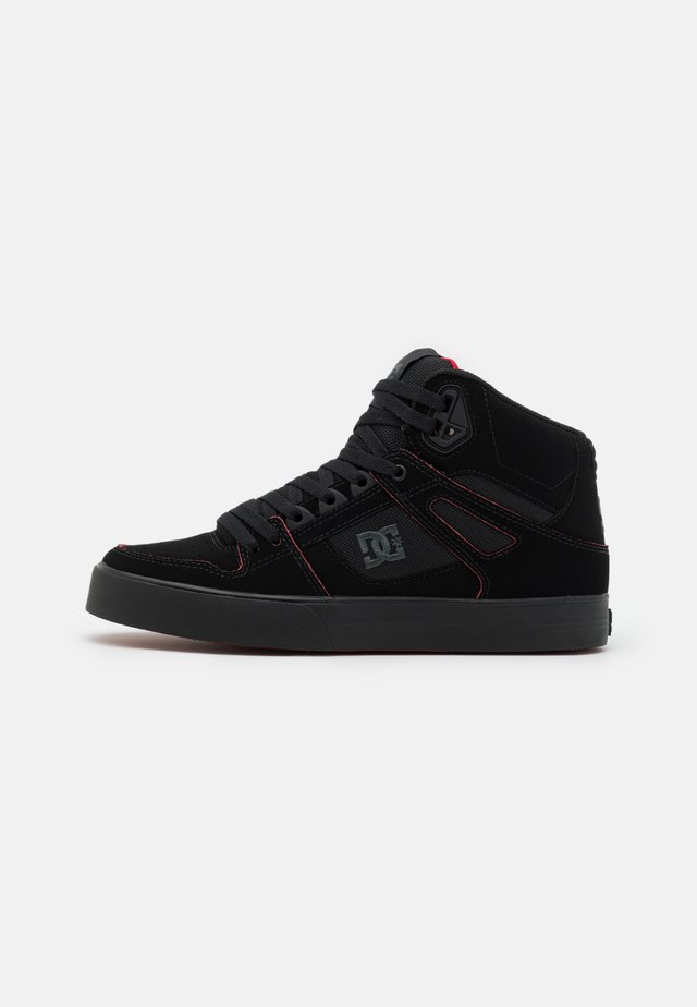 PURE - Skate shoes - black/red/white