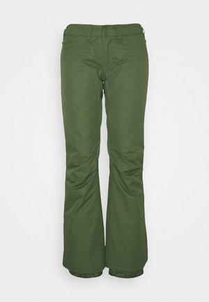 BACKYARD - Zimní kalhoty - bronze green