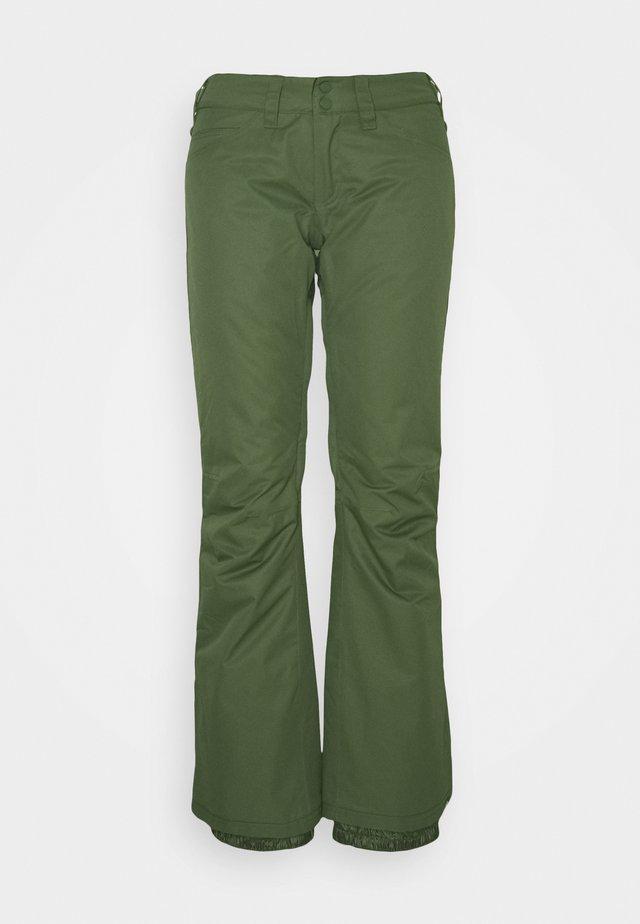 BACKYARD - Snow pants - bronze green