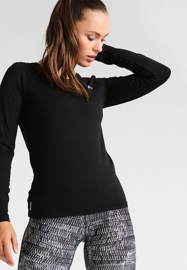 ONPCLARISSA TRAINING TEE - Koszulka sportowa - black