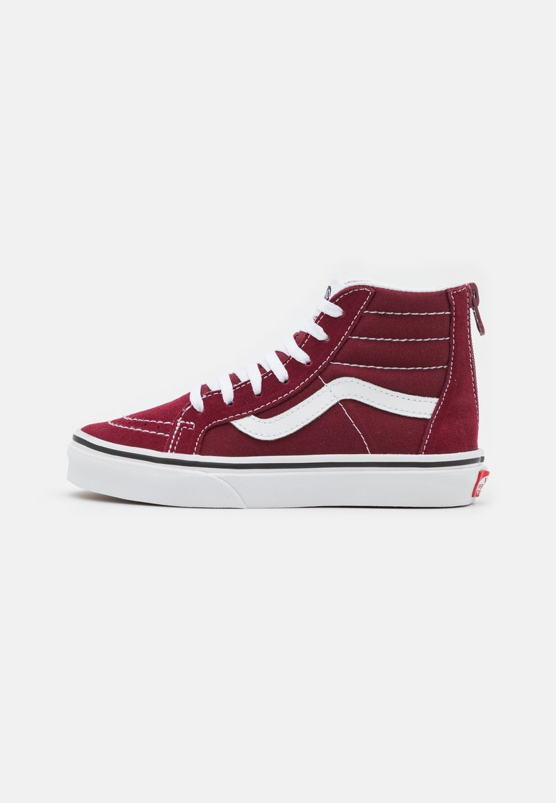 Vans - UY SK8-HI ZIP - High-top trainers - pomegranate/true white