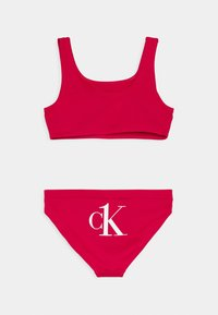Calvin Klein Swimwear - BRALETTE SET - Bikini - pink heart - 1