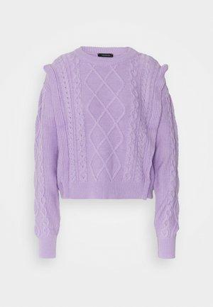 Jersey de punto - lila