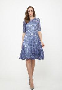 Madam-T - Cocktail dress / Party dress - indigo - 1