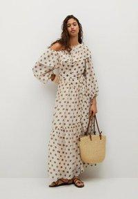 Mango - Denní šaty - ecru - 1