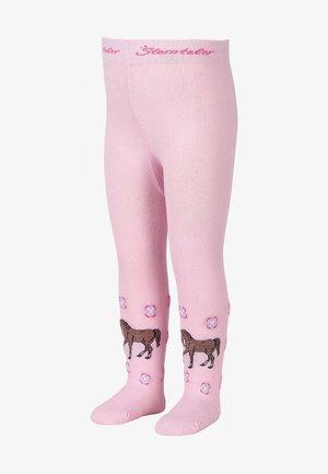 STRUMPFHOSEN WINTER STRUMPFHOSE PFERD - Tights - rosa