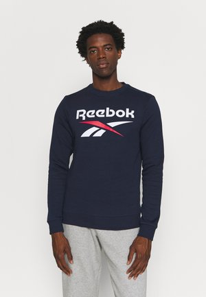 IDENTITY CREW GRAPHIC - Sweater - vector navy/white/vector red