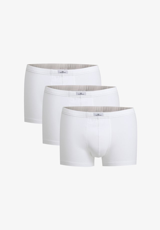 3 PACK - Pants - weiß