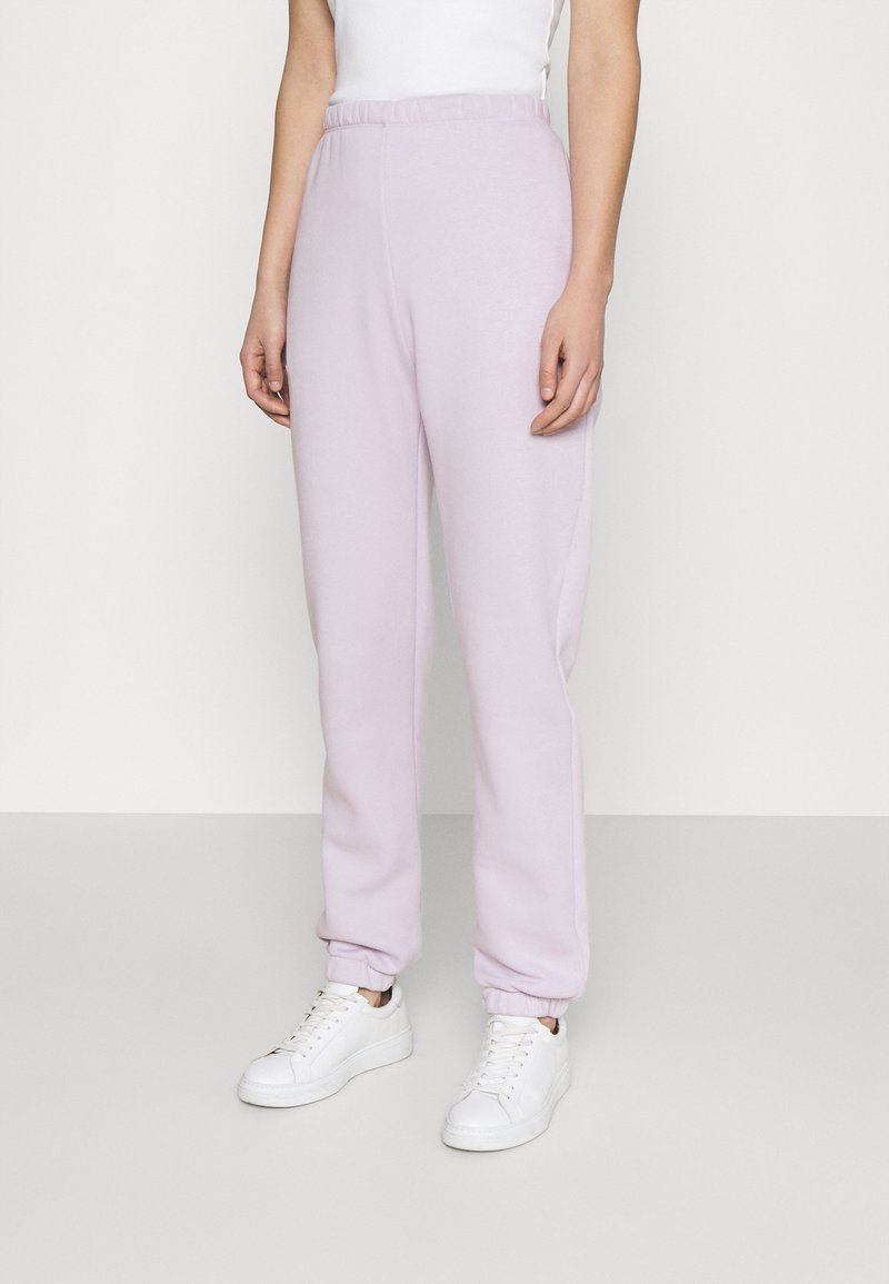 Nly by Nelly - COZY PANTS - Tracksuit bottoms - light purple