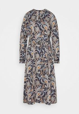DRESS - Korte jurk - marine multi