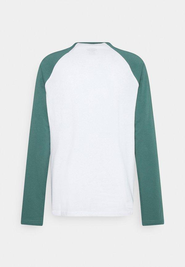 Dickies COLOGNE - Bluzka z długim rękawem - lincoln green/turkusowy Odzież Męska SDOS