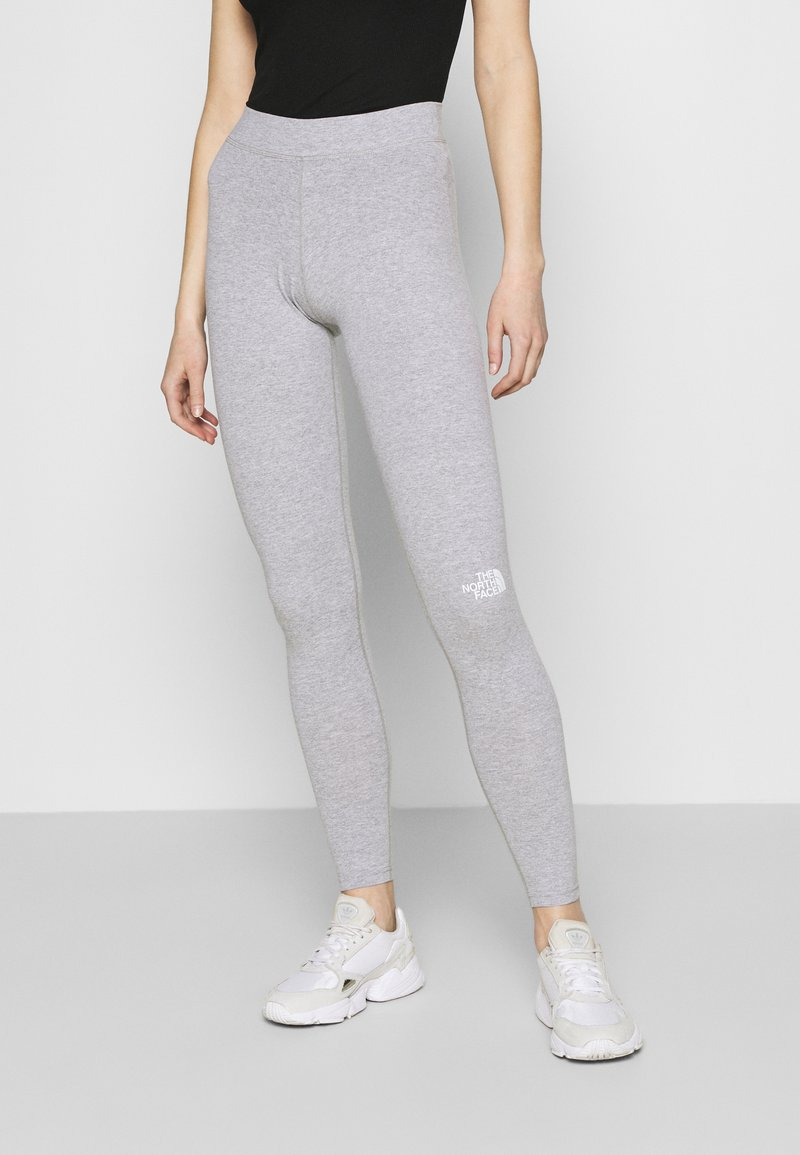 The North Face - Leggings - Trousers - light grey heather