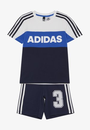 ATHLETICS SHORT SLEEVE TRACKSUIT BABY SET - Chándal - white/conavy