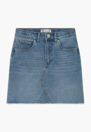 HIGH RISE - Jeansrok - light-blue denim