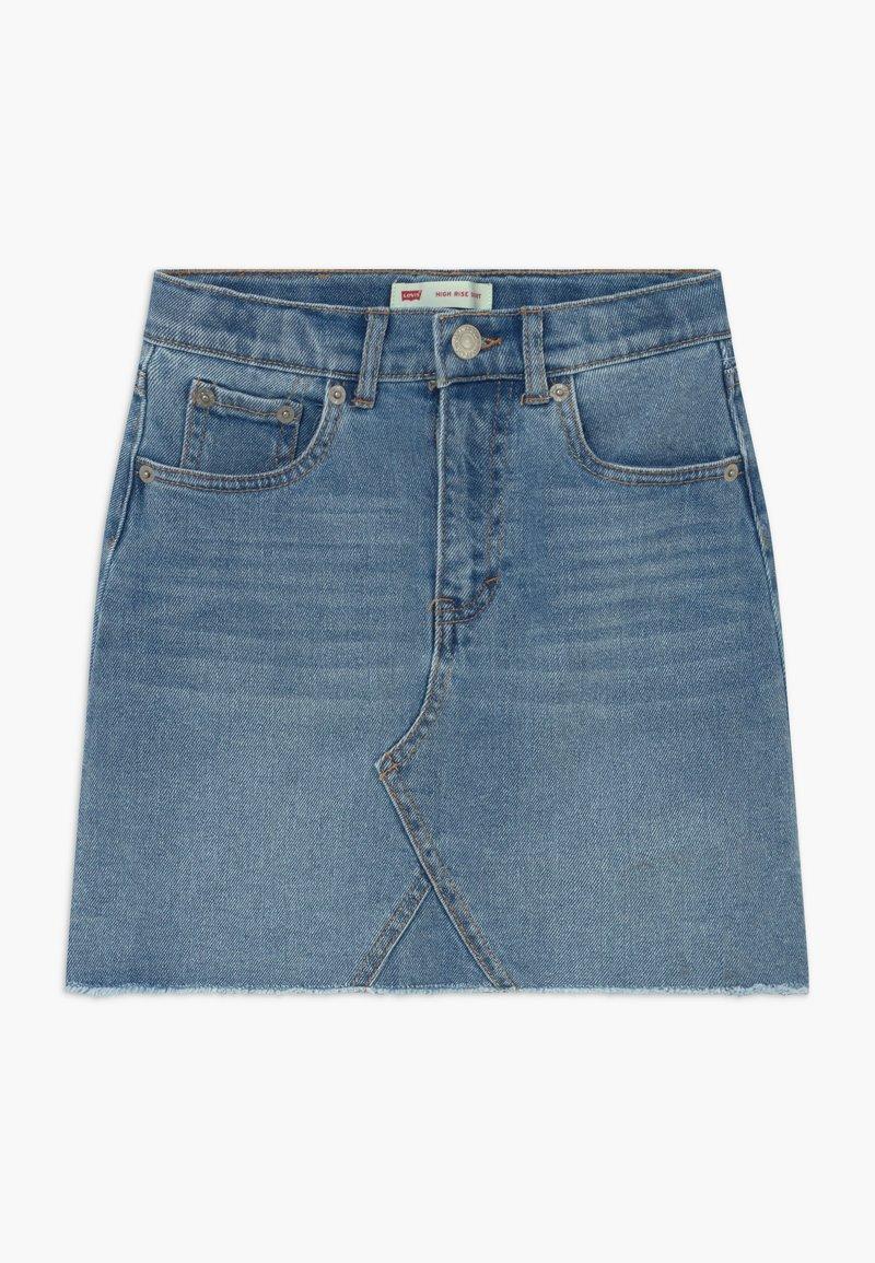 Levi's® - HIGH RISE - Denimová sukně - light-blue denim