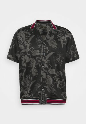 HAWAII BOWLING SHIRT - Camicia - black