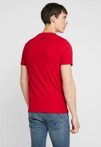 Tiffosi - GIBSON - Print T-shirt - red - 2