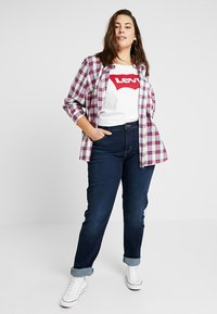 Levi's® Plus - SHAPING - Vaqueros rectos - dark horse - 1