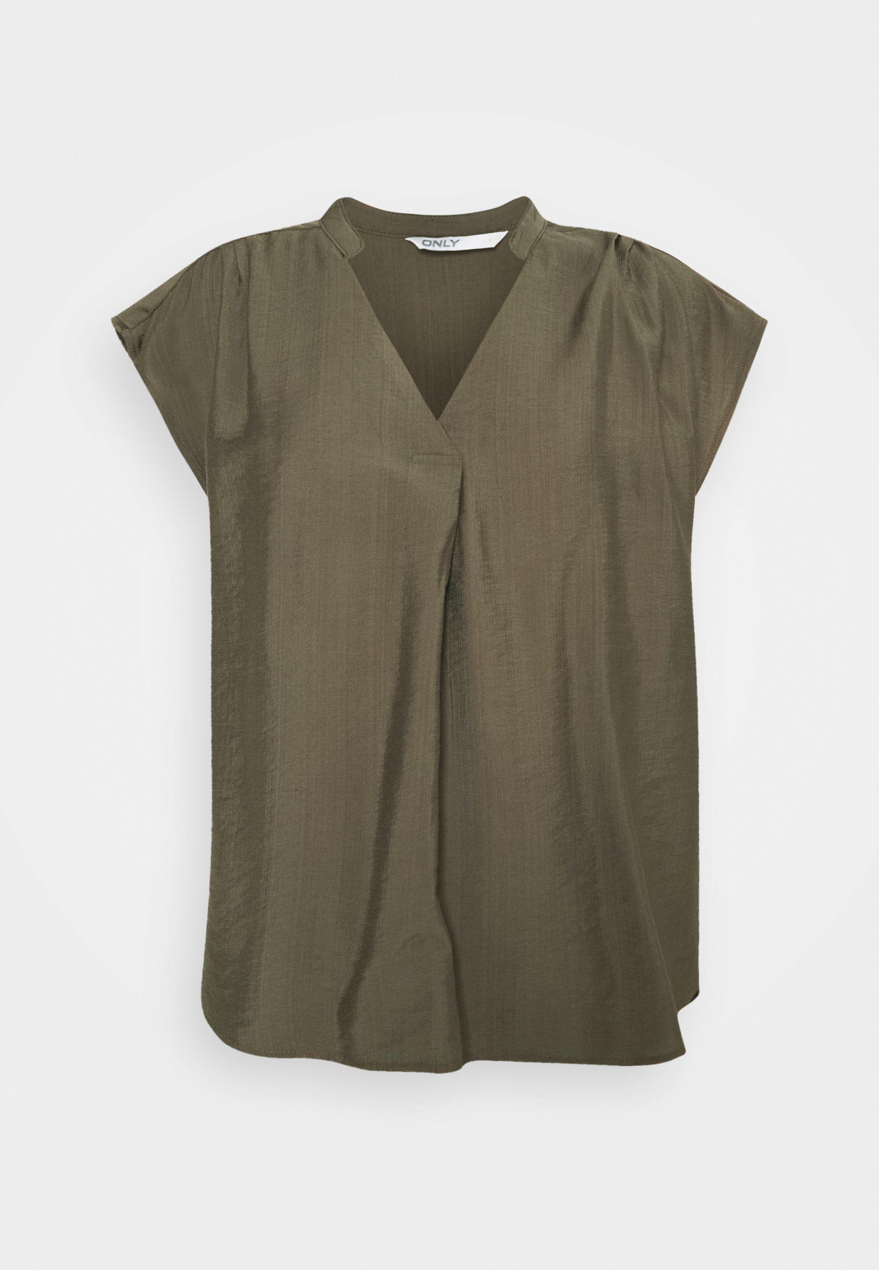 Damen ONLJOSEY V NECK  - T-Shirt basic