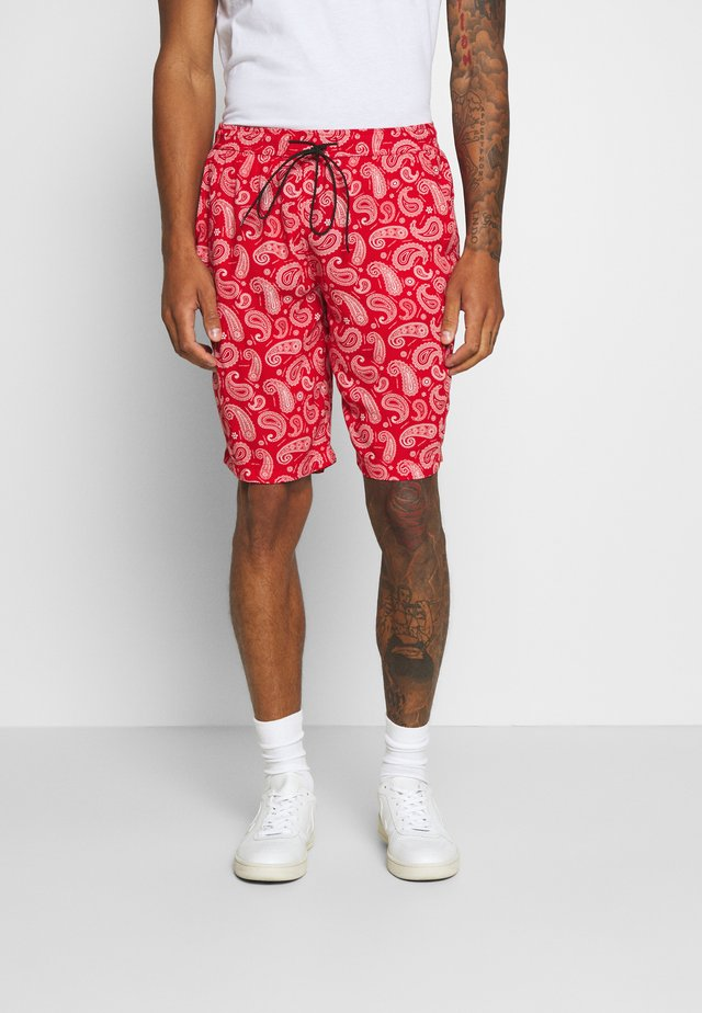 PAISLEY - Short - red