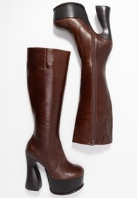 Jeffrey Campbell - COIL - High Heel Stiefel - coffee - 3