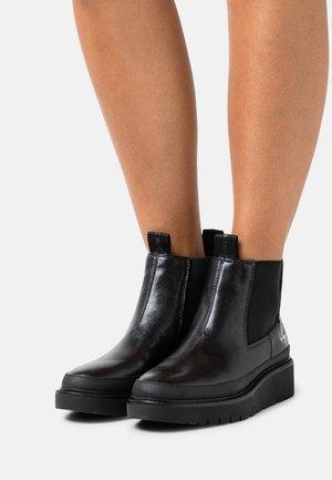 PLUS MID CHELSEA - Ankle boots - black