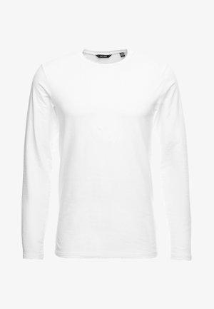 ONSBASIC SLIM TEE - Maglietta a manica lunga - white