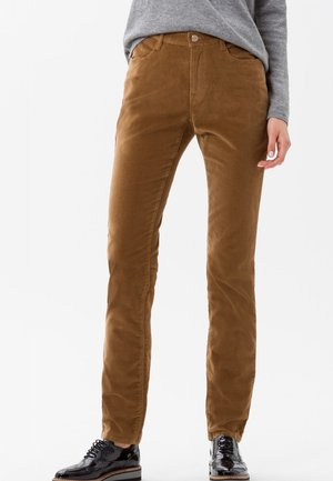 STYLE MARY - Trousers - brown