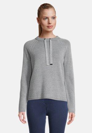 Pullover - grau/grau