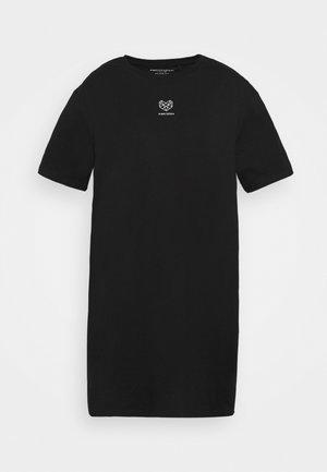 VIVID DRESS - Jurken - black
