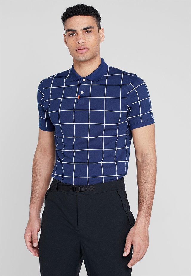 THE NIKE POLO SLIM - T-shirt sportiva - blue void