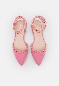 RAID Wide Fit - WIDE FIT LAURENA - Slingback ballet pumps - pink - 3